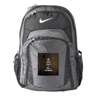 Keep calm and kill zombies backpack