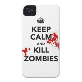 keep calm and kill zombies casematecase