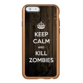 Keep calm and kill zombies incipio feather® shine iPhone 6 case