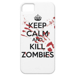 Keep Calm And Kill Zombies marries iPhone SE/5/5s Case