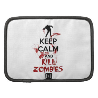 Keep Calm and Kill Zombies Planner