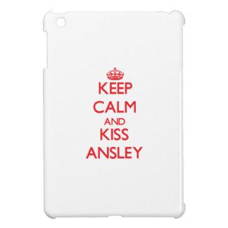 Keep Calm and kiss Ansley iPad Mini Case