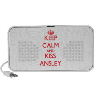 Keep Calm and Kiss Ansley Mp3 Speaker