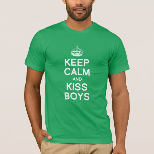 KEEP CALM AND KISS BOYS T-Shirt