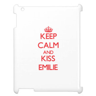 Keep Calm and kiss Emilie Case For The iPad