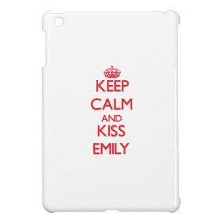 Keep Calm and Kiss Emily Cover For The iPad Mini