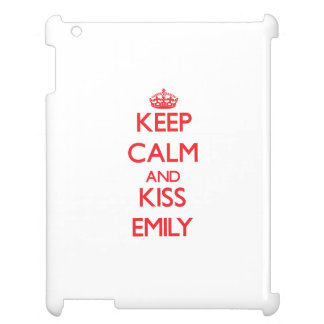 Keep Calm and Kiss Emily Cover For The iPad 2 3 4