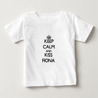 Keep Calm and kiss Fiona Tee Shirt