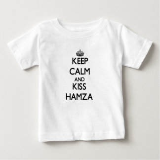 Keep Calm and Kiss Hamza Shirt