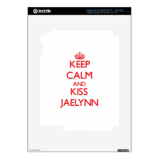 Keep Calm and Kiss Jaelynn Skins For iPad 3