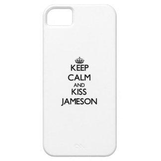 Keep Calm and Kiss Jameson iPhone 5 Case