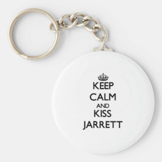 Keep Calm and Kiss Jarrett Keychain