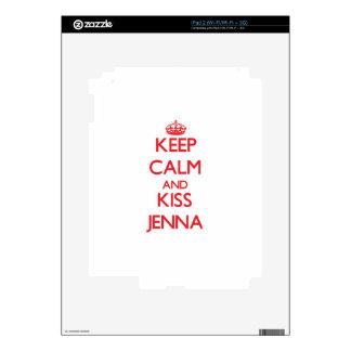 Keep Calm and Kiss Jenna Skin For The iPad 2