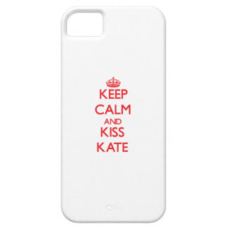 Keep Calm and kiss Kate iPhone 5 Case