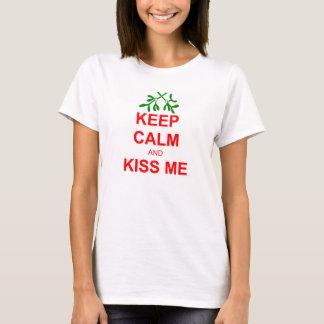 KEEP CALM AND KISS ME T-SHIRTS