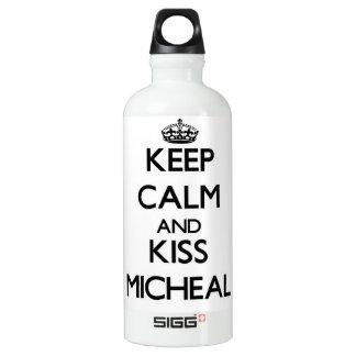 Keep Calm and Kiss Micheal SIGG Traveler 0.6L Water Bottle