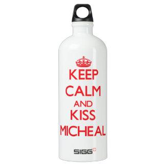 Keep Calm and Kiss Micheal SIGG Traveler 1.0L Water Bottle