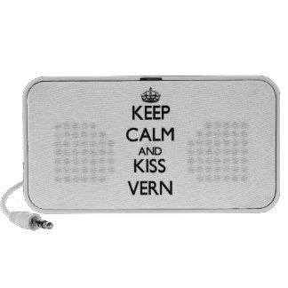 Keep Calm and Kiss Vern Mini Speaker