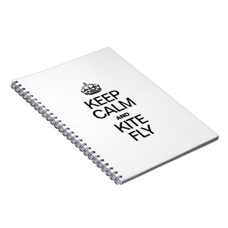 KEEP CALM AND KITE FLY NOTEBOOKS
