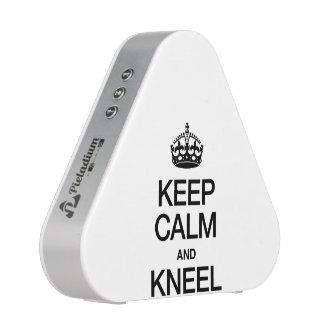 KEEP CALM AND KNEEL BLUETOOTH SPEAKER