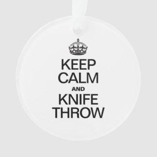 KEEP CALM AND KNIFE THROW