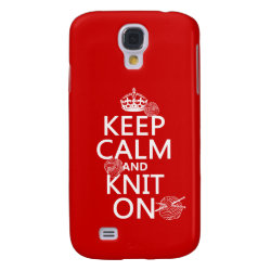 Case-Mate Barely There Samsung Galaxy S4 Case with Keep Calm and Knit On design