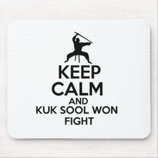Keep Calm And Kuk Sool Won Fight Mouse Pad