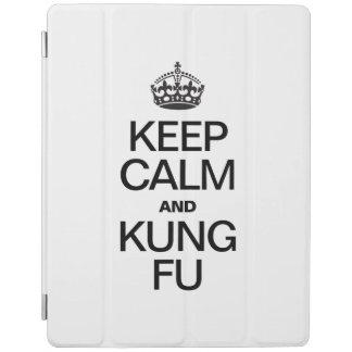KEEP CALM AND KUNG FU iPad COVER