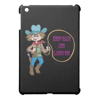 Keep Calm And Lasso On iPad Mini Cover