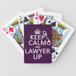 Keep Calm and Lawyer Up (any color) Card Decks