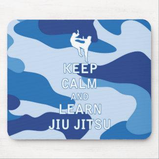 Keep Calm and Learn Jiu Jitsu Mouse Pad