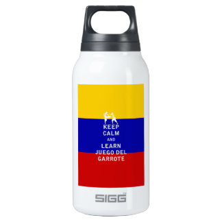 Keep Calm and Learn Juego del Garrote Thermos Bottle