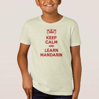 Keep Calm and Learn Mandarin Boys Shirt