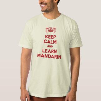Keep Calm and Learn Mandarin Mens Shirt