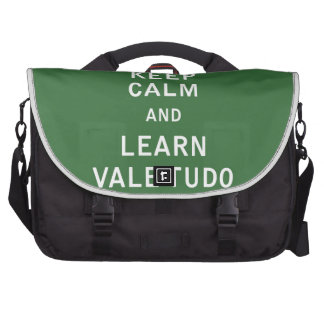 Keep Calm and Learn Vale Tudo Bags For Laptop
