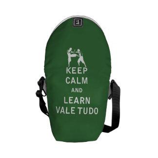 Keep Calm and Learn Vale Tudo Messenger Bag