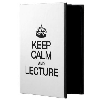 KEEP CALM AND LECTURE iPad AIR COVERS