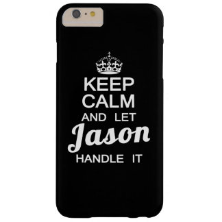 Keep calm and let Jason handle Barely There iPhone 6 Plus Case