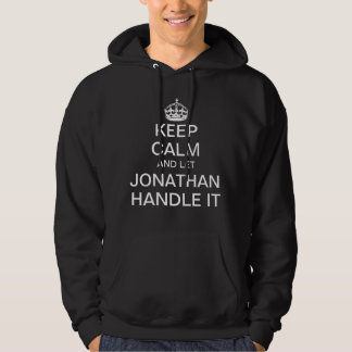 Keep Calm and let Jonathan handle it Hoodie