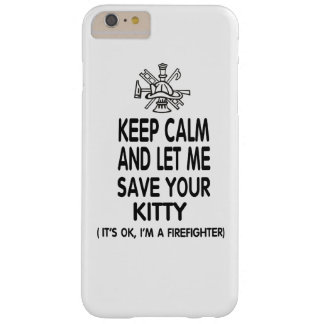 Keep Calm And Let Me Save Your Kitty Barely There iPhone 6 Plus Case