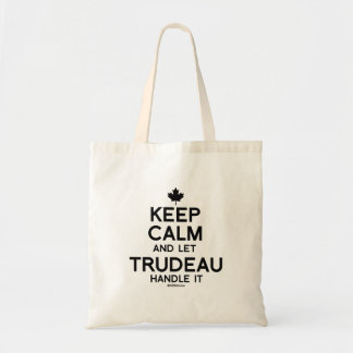 Keep Calm and let Trudeau Handle it -.png Tote Bag