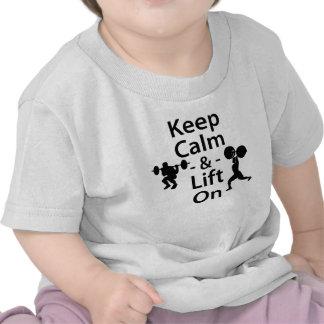 Keep Calm and Lift On Shirt