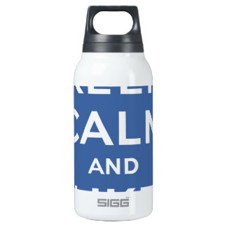 Keep Calm And Like Me Thumbs Up Carry On Insulated Water Bottle