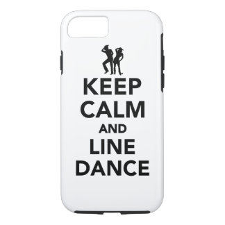 Keep calm and line dance iPhone 8/7 case