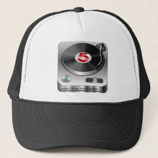 keep-calm-and-listen-house  music trucker hat