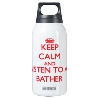 Keep Calm and Listen to a Baar SIGG Thermo 0.3L Insulated Bottle