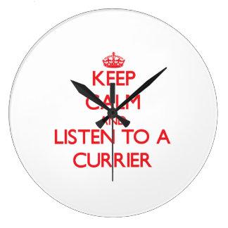 Keep Calm and Listen to a Currier Clocks