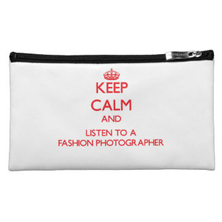 Keep Calm and Listen to a Fashion Photographer Makeup Bags