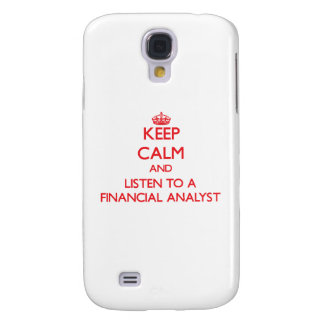 Keep Calm and Listen to a Financial Analyst HTC Vivid Case
