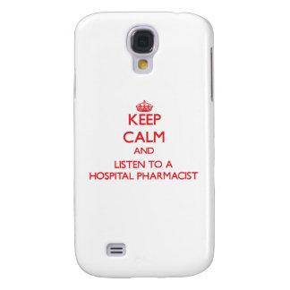 Keep Calm and Listen to a Hospital Pharmacist HTC Vivid / Raider 4G Case